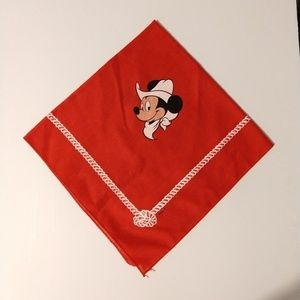 Cowboy Mickey red hankerchief
